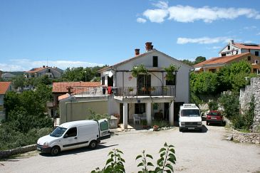 Property Krk (Krk) - Accommodation 5382 - Apartments with pebble beach.