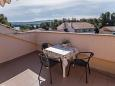 Terrace - Studio flat AS-5396-a - Apartments Krk (Krk) - 5396