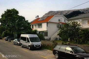 Property Baška (Krk) - Accommodation 5404 - Apartments with pebble beach.