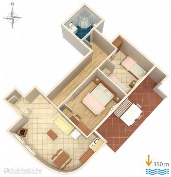 Apartment A-5409-a - Apartments Baška (Krk) - 5409