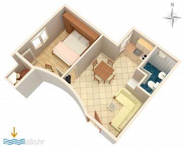 Apartment A-5409-e - Apartments Baška (Krk) - 5409