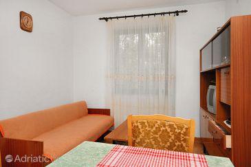 Baška, Living room u smještaju tipa apartment, dostupna klima, dopusteni kucni ljubimci i WIFI.