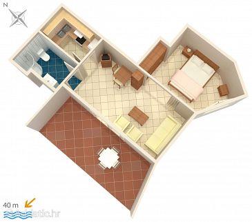 Apartment A-5419-b - Apartments Punat (Krk) - 5419