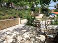 Terrace - Studio flat AS-542-b - Apartments Basina (Hvar) - 542