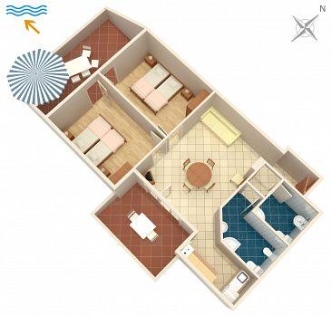 Apartment A-5427-a - Apartments Njivice (Krk) - 5427