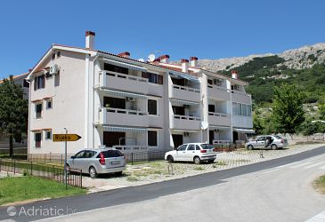 Property Baška (Krk) - Accommodation 5429 - Apartments with pebble beach.