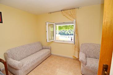 Uvala Rasohatica, Pokój dzienny w zakwaterowaniu typu apartment, dopusteni kucni ljubimci.