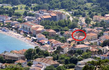 Property Baška (Krk) - Accommodation 5454 - Apartments and Rooms near sea with pebble beach.