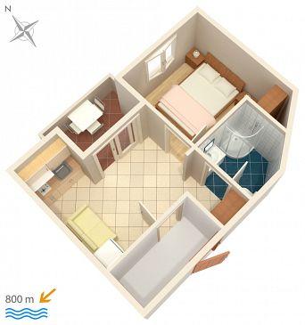 Apartament A-5458-f - Kwatery Njivice (Krk) - 5458