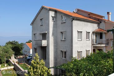 Property Njivice (Krk) - Accommodation 5458 - Apartments and Rooms with pebble beach.
