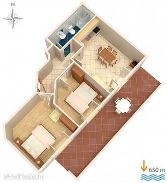Apartment A-5461-b - Apartments Krk (Krk) - 5461