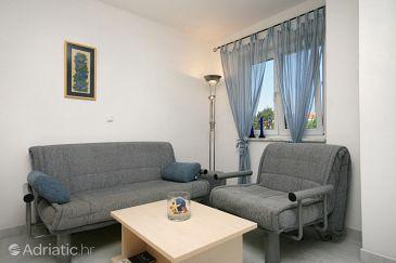 Pinezići, Living room u smještaju tipa apartment, WIFI.