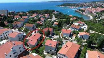 Property Krk (Krk) - Accommodation 5467 - Apartments with pebble beach.