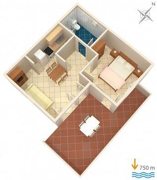 Apartament A-5469-b - Apartamenty Čižići (Krk) - 5469