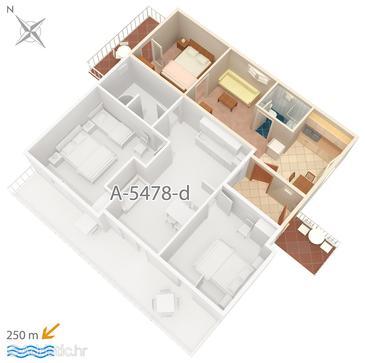 Apartment A-5478-b - Apartments Crikvenica (Crikvenica) - 5478