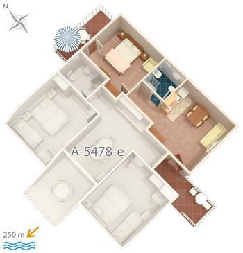 Apartment A-5478-c - Apartments Crikvenica (Crikvenica) - 5478