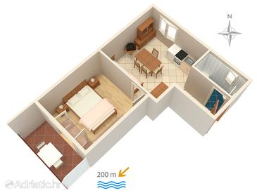 Apartment A-5481-c - Apartments and Rooms Selce (Crikvenica) - 5481