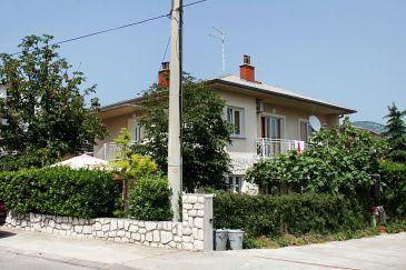 Property Novi Vinodolski (Novi Vinodolski) - Accommodation 5483 - Apartments with pebble beach.