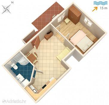 Apartment A-549-a - Apartments Korčula (Korčula) - 549