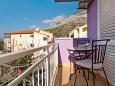 Balcony - Studio flat AS-5503-a - Apartments Baška Voda (Makarska) - 5503