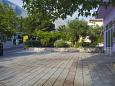 Parking lot Baška Voda (Makarska) - Accommodation 5503 - Apartments near sea with pebble beach.
