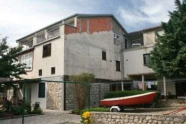 Property Jadranovo (Crikvenica) - Accommodation 5507 - Apartments with pebble beach.