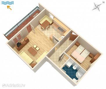 Apartment A-5514-a - Apartments Novi Vinodolski (Novi Vinodolski) - 5514