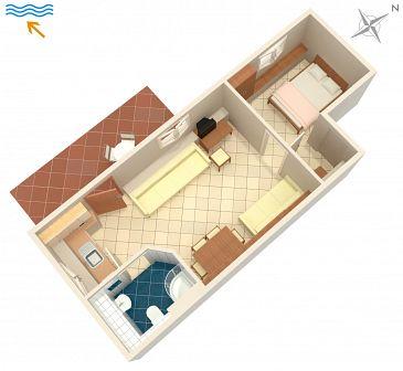 Apartament A-5514-c - Apartamenty Novi Vinodolski (Novi Vinodolski) - 5514