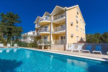 Property Jadranovo (Crikvenica) - Accommodation 5521 - Apartments in Croatia.