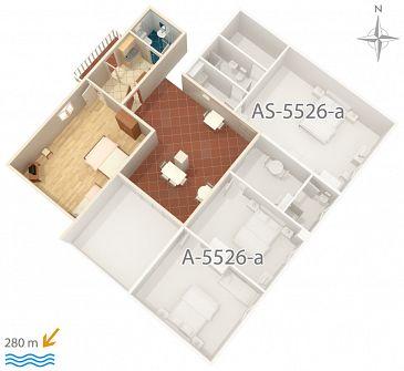 Apartment A-5526-b - Apartments Novi Vinodolski (Novi Vinodolski) - 5526