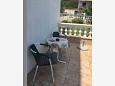 Terrace - Studio flat AS-5526-b - Apartments Novi Vinodolski (Novi Vinodolski) - 5526