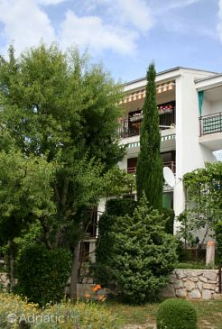 Property Klenovica (Novi Vinodolski) - Accommodation 5530 - Apartments with pebble beach.