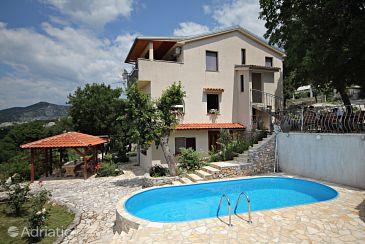 Property Klenovica (Novi Vinodolski) - Accommodation 5538 - Apartments with pebble beach.