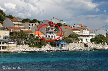 Property Milna (Hvar) - Accommodation 554 - Apartments near sea with pebble beach.