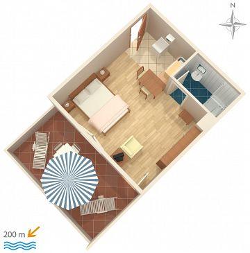 Studio flat AS-5545-a - Apartments and Rooms Novi Vinodolski (Novi Vinodolski) - 5545