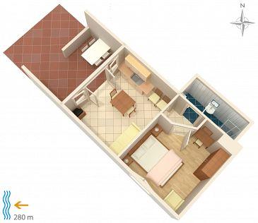 Apartament A-5548-a - Apartamenty Klenovica (Novi Vinodolski) - 5548