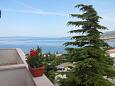 Terrace - view - Apartment A-5548-d - Apartments Klenovica (Novi Vinodolski) - 5548