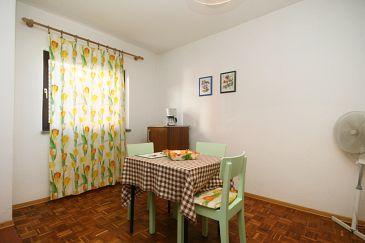 Crikvenica, Dining room u smještaju tipa apartment, WIFI.