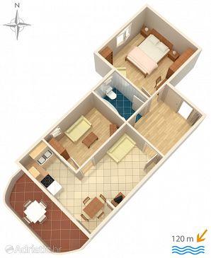 Apartment A-5558-a - Apartments Novi Vinodolski (Novi Vinodolski) - 5558