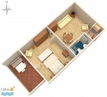 Apartment A-5558-b - Apartments Novi Vinodolski (Novi Vinodolski) - 5558