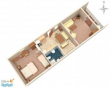 Apartment A-5582-a - Apartments Novi Vinodolski (Novi Vinodolski) - 5582