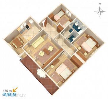 Apartment A-5583-a - Apartments Novi Vinodolski (Novi Vinodolski) - 5583