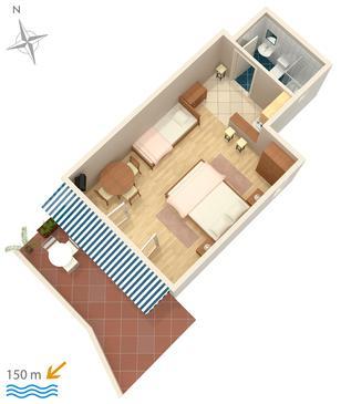 Studio AS-5585-a - Apartamenty Crikvenica (Crikvenica) - 5585