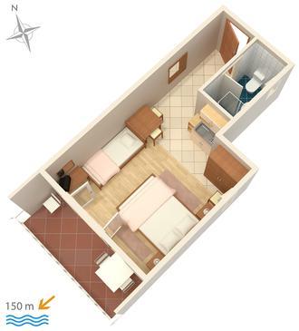 Studio AS-5585-b - Apartamenty Crikvenica (Crikvenica) - 5585
