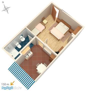 Studio flat AS-5585-d - Apartments Crikvenica (Crikvenica) - 5585