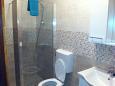 Tri Žala, Bathroom u smještaju tipa studio-apartment, dopusteni kucni ljubimci i WIFI.