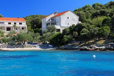 Property Tri Žala (Korčula) - Accommodation 559 - Apartments near sea with pebble beach.