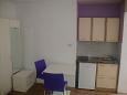 Dramalj, Kitchen u smještaju tipa studio-apartment, dopusteni kucni ljubimci i WIFI.