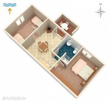 Apartment A-5617-b - Apartments Postira (Brač) - 5617