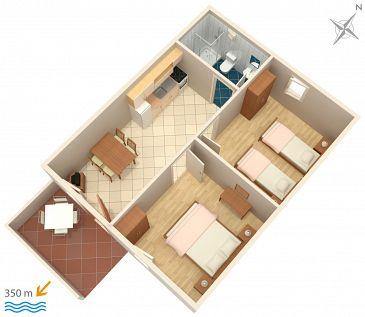 Apartament A-5641-a - Apartamenty Bol (Brač) - 5641